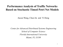 Modeling and Performance Evaluation of Complex Traffic