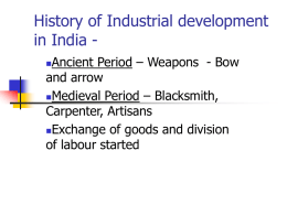 History of Industrial development in India