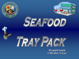 SEAFOOD ROAD SHOW