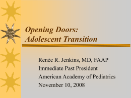 Opening Doors: Adolescent Transition
