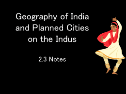 Geography of India and