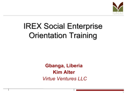 IREX-SED-training-part1-definitions