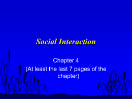 Social Interaction - Imperial Valley College