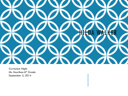 Hilda Walker - Summit Hill