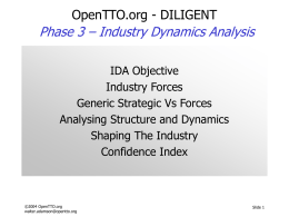 Industry Dynamics Analysis