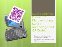 Mobile Learning: Interactive Discovery Using Mobile