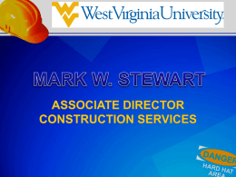West Virginia University Construction Symposium