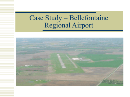 Case Study – Bellefontaine Regional Airport