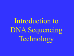 Recombinant DNA Technology for the non
