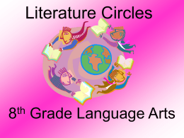 Literature Circles - Reading Comprehension Online