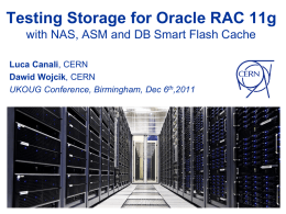 Testing Storage for Oracle RAC 11g