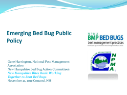 The National Pest Management Association