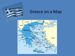 Greece on a Map - Groovin into 3rd Grade