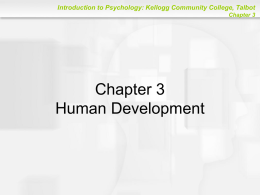 Human Development - Kellogg Community College