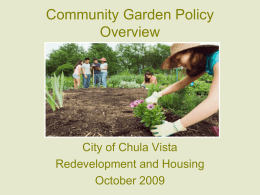 Community Gardens - Home | Healthy Eating Active Living