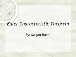 Euler Characteristic Theorem - ceadserv1