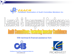 Audit Committees: Fostering investor confidence