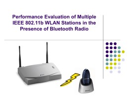 Performance Evaluation of Multiple IEEE 802.11b WLAN