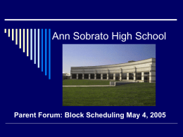 Ann Sobrato High School