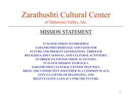 Zarthosti Cultural Center