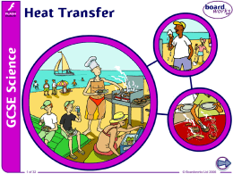 1. Heat Transfer - Science Fiction