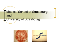 Medical school of Strasbourg