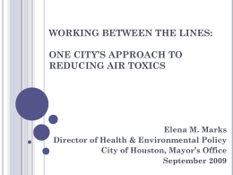 Working Between the Lines: One City's Approach to Reducing