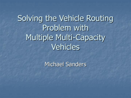 Solving the Vehicle Routing Problem with Multiple Multi