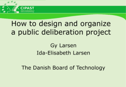 The Danish Board of Technology