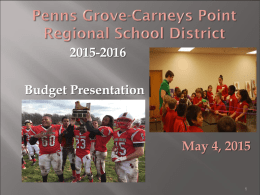 Penns Grove Carneys Point Regional School District