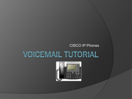 DCSS Voicemail - Douglas County School District