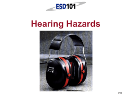 Hearing Hazards