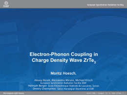Giant Kohn Anomaly in Charge Density Wave ZrTe3