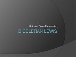 Diocletian Lewis