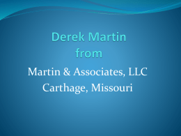 Derek Martinfrom