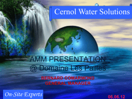 Cernol Water Solutions