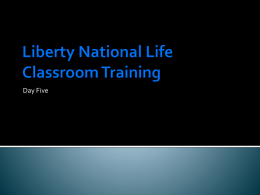 American Income Life Classroom Training