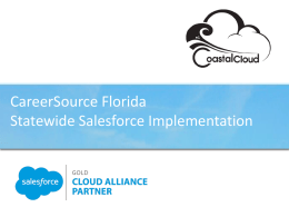 Coastal Cloud presents CareerSource Florida Statewide