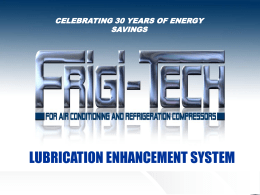 OVER 20 YEARS OF ENERGY SAVINGS