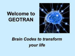GEOTRAN - Life Solutions Institute