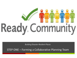 ReadyCommunity - Southern Rural Development Center