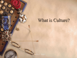 Why must we understand culture?