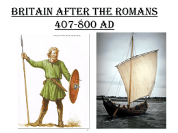 Britain After The Romans