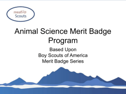 Animal Science Merit Badge - North American Meat Institute