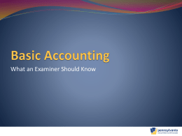 Basic Accounting - North American Securities