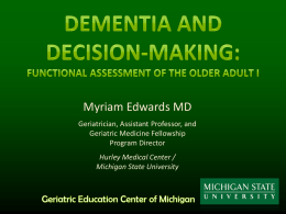 Dementia In Primary Care