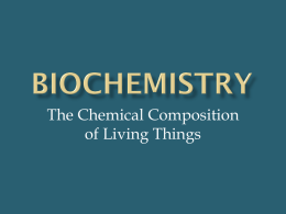 bIOCHEMISTRY - East Pennsboro Area School District
