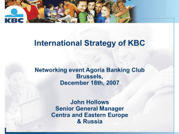 KBC Group Central Europe