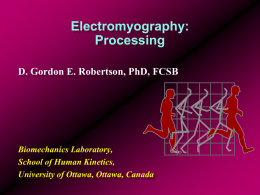 Electromyography: Processing