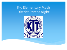 New Math Resource for Elementary Students